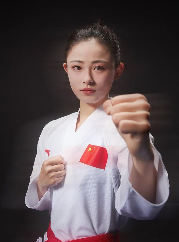 Nu hoang Karate xu Trung tai Olympic Tokyo lo nhan sac chuan thien than