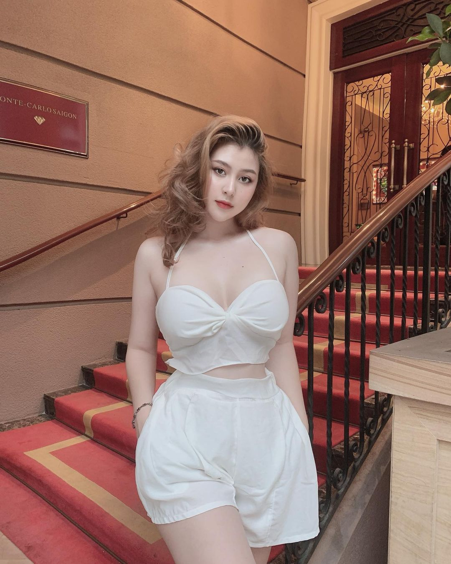 Hot girl lai Tay buc xuc vi bi cat ghep noi dung nhay cam-Hinh-11