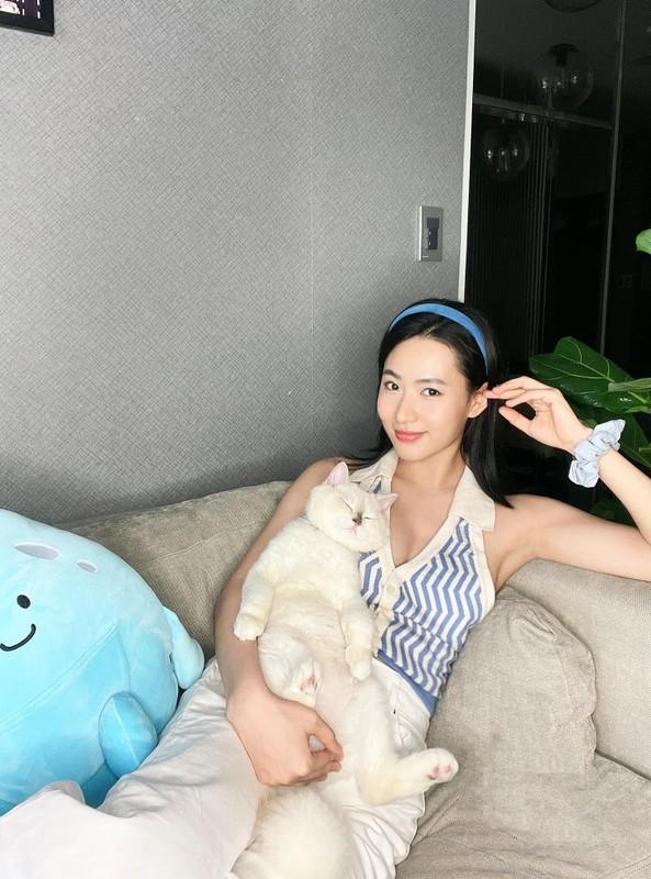 Ru bo diu dang, hot girl Hai Phong cuc ca tinh tren TikTok-Hinh-11