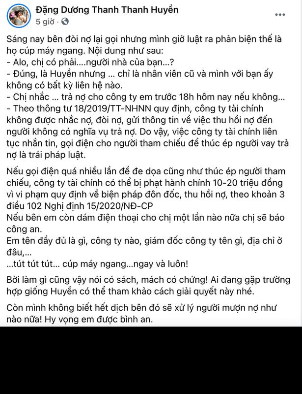Bi goi doi no, nu MC VTV co man dang dan gay chu y-Hinh-3