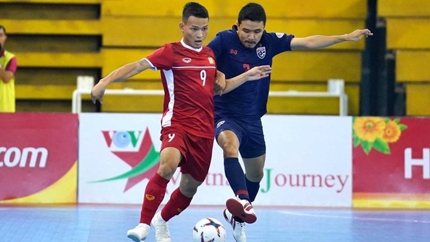 Du Futsal World Cup 2021, doi tuyen Viet Nam van xep sau Thai Lan