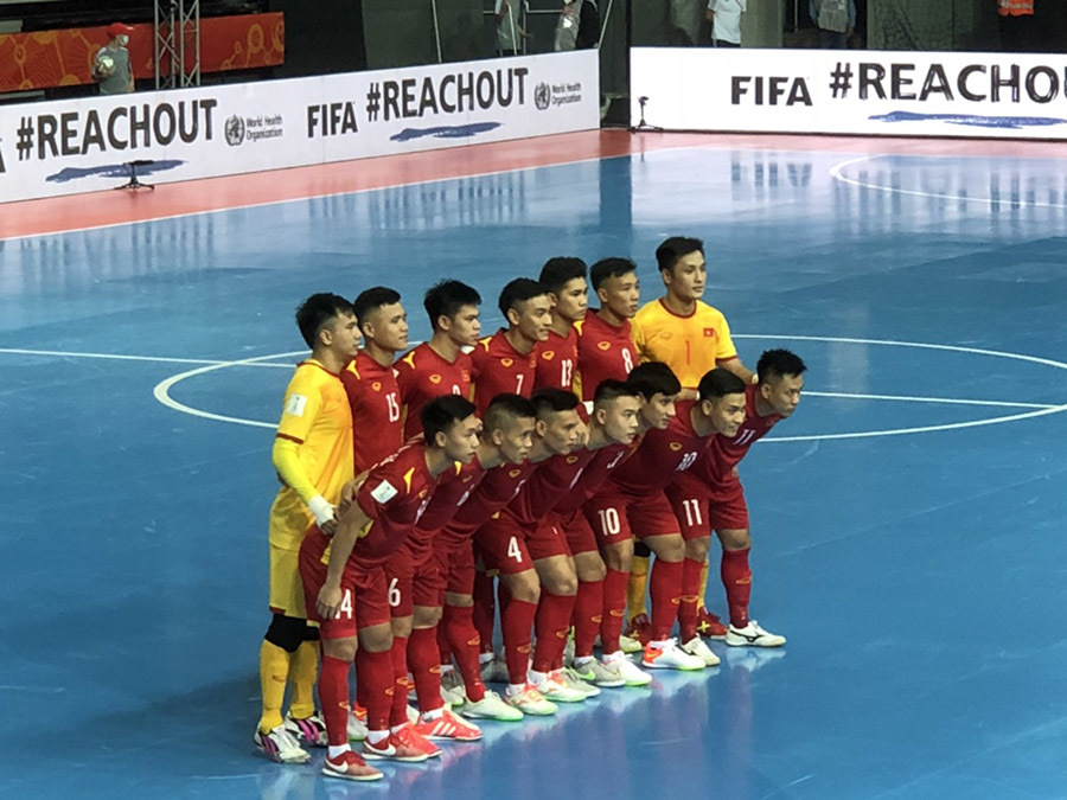 Thua mo man Futsal World Cup 2021, doi tuyen Viet Nam tinh toan gi?