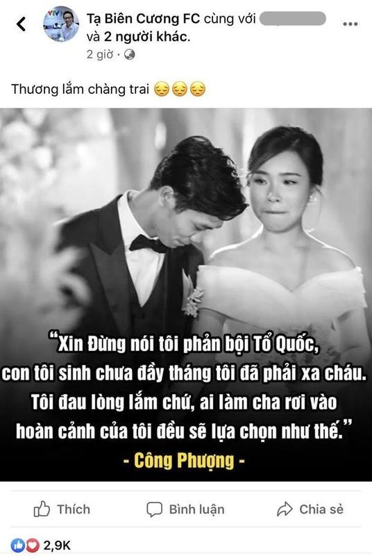 Xon xao Cong Phuong dap tra chi trich