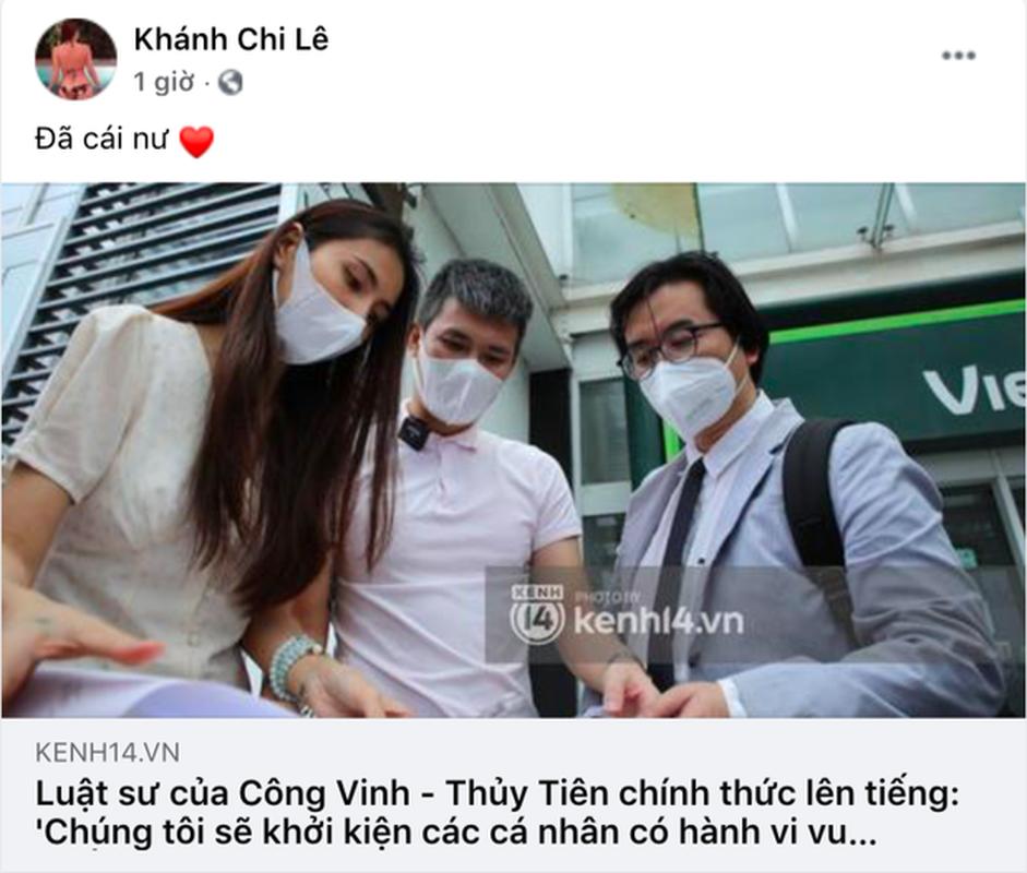 Thuy Tien livestream sao ke, em gai Cong Vinh the hien ro thai do-Hinh-5