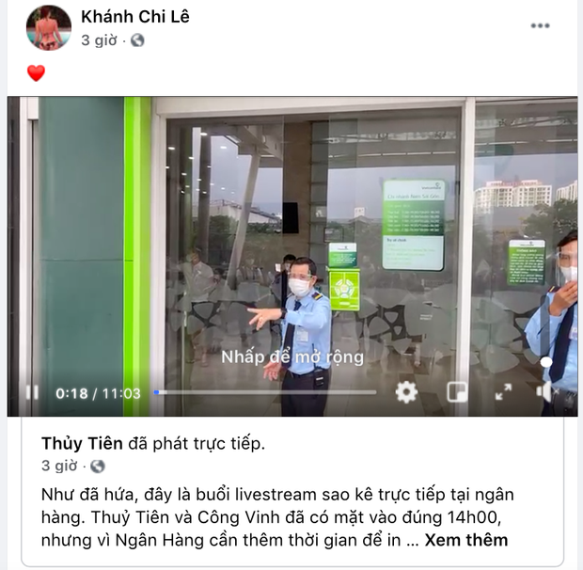 Thuy Tien livestream sao ke, em gai Cong Vinh the hien ro thai do-Hinh-6