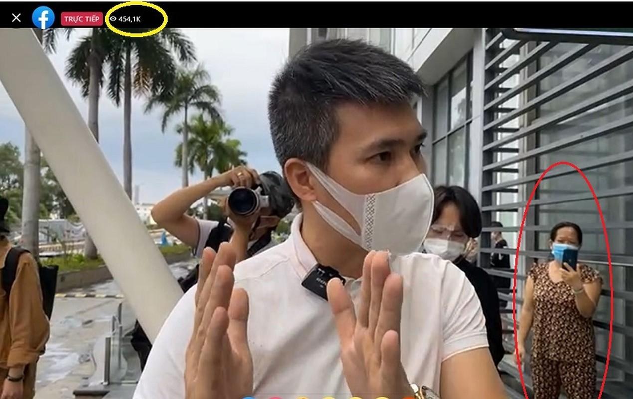 Cong Vinh livestream sao ke, nhung chiec