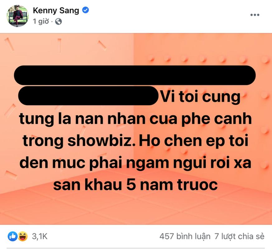 """Bat ngo comeback, hien tuong mang Kenny Sang gay soc voi loi """"to"""" showbiz-Hinh-4"""