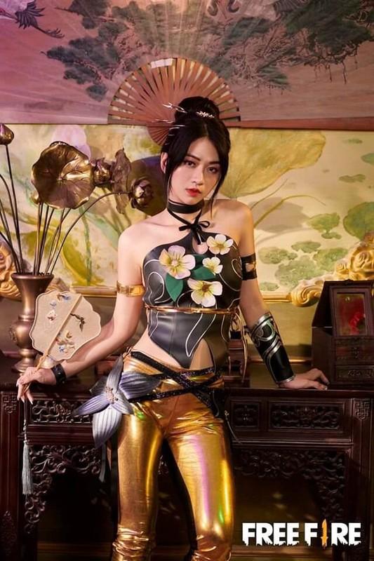 Le Bong khoe anh cosplay, dan mang don doan dan than lang game-Hinh-6