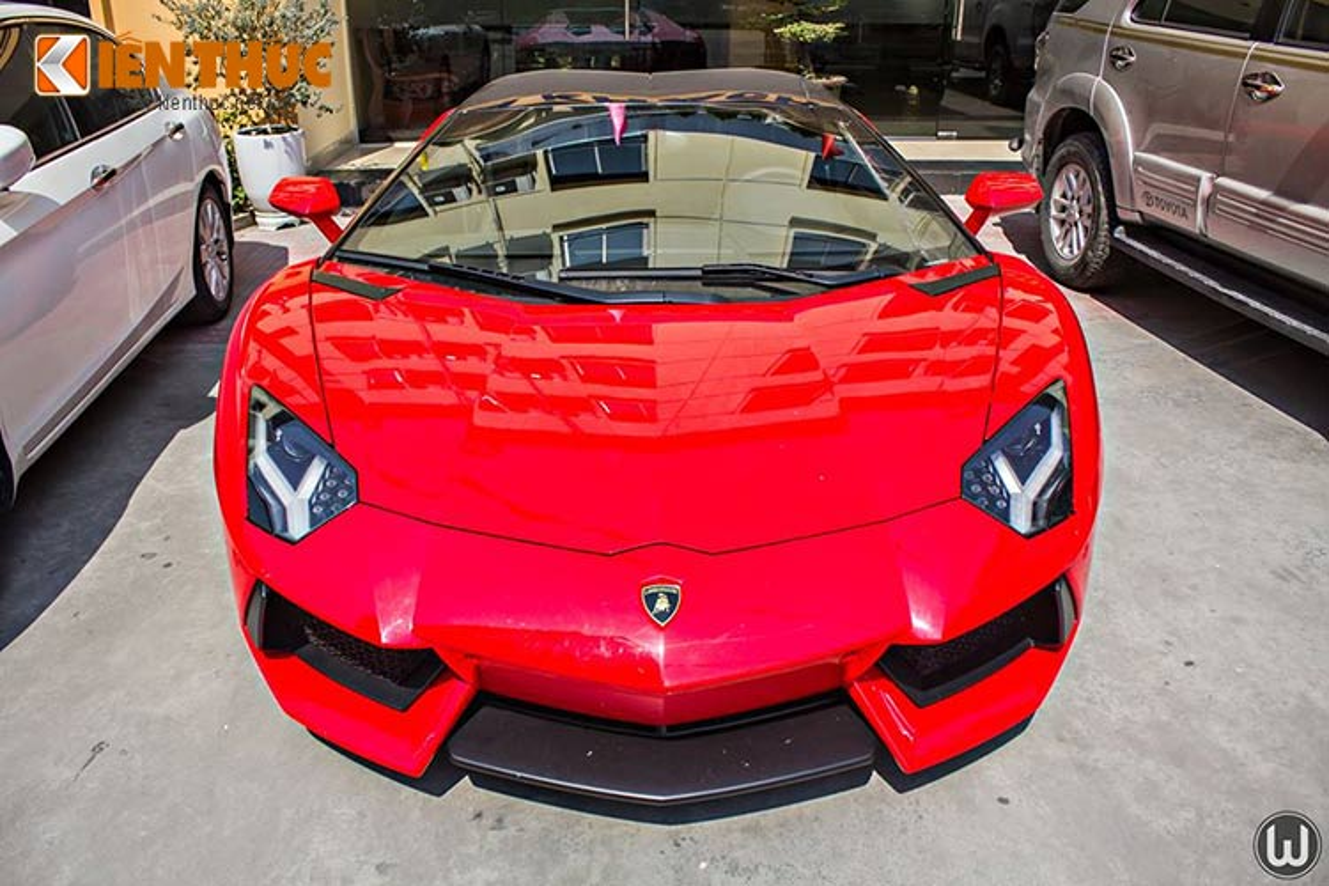 Sieu xe Lamborghini mui tran 24,5 ty doc nhat Viet Nam-Hinh-3