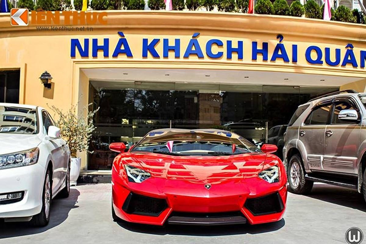 Sieu xe Lamborghini mui tran 24,5 ty doc nhat Viet Nam