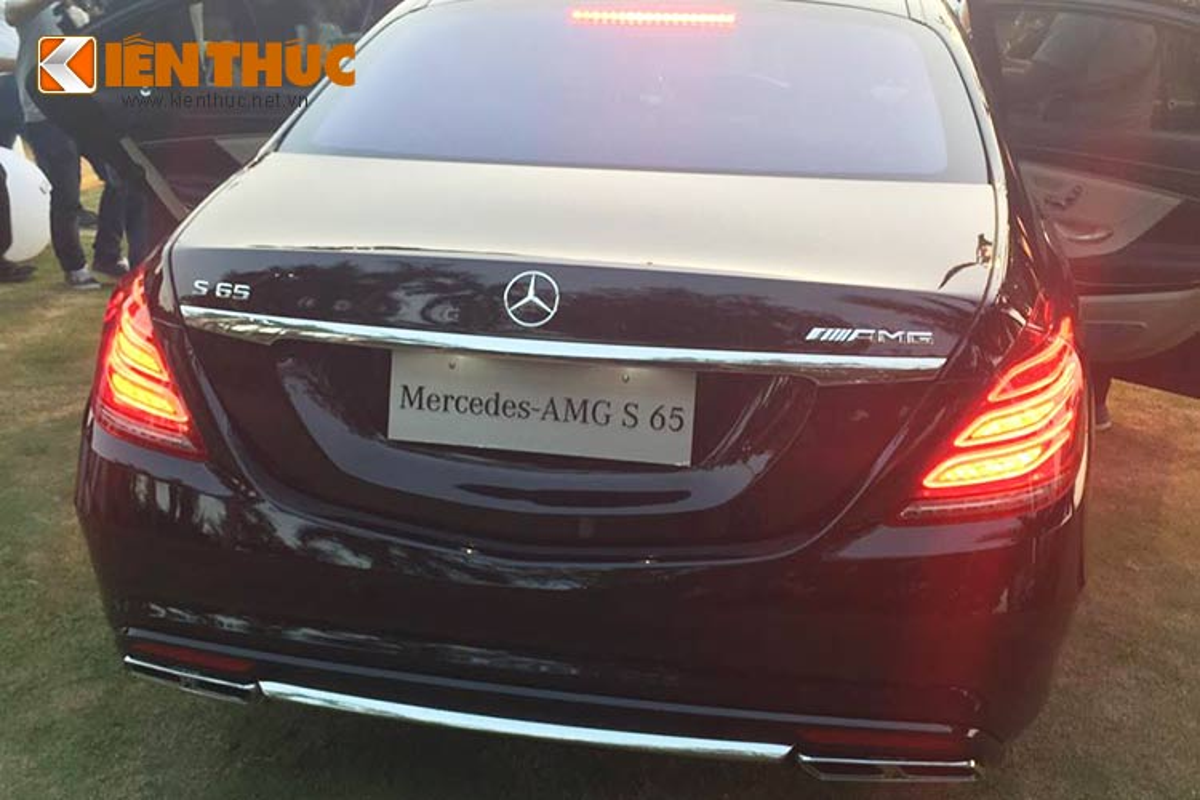 Chi tiet sieu sedan Mercedes S65 AMG gia hon 12 ty tai VN-Hinh-5