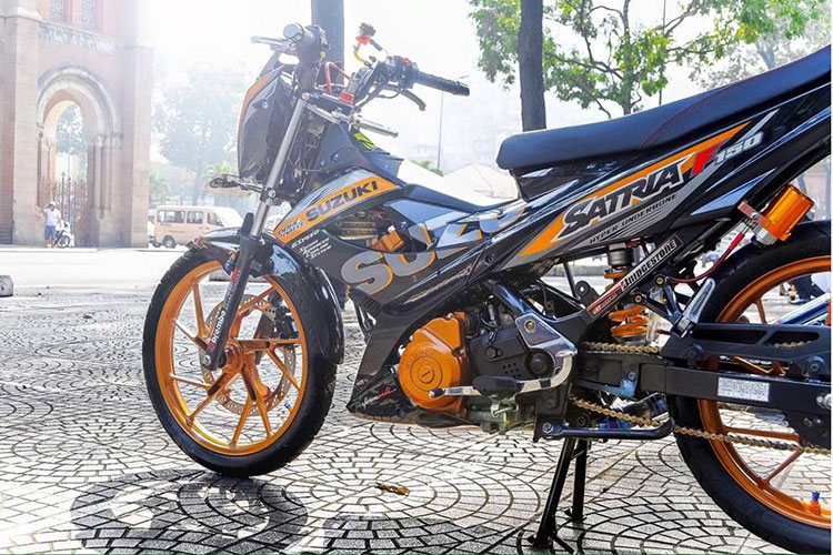 "Ngam xe may Suzuki Raider 150 do ""sieu chat"" tai Sai Gon-Hinh-6"