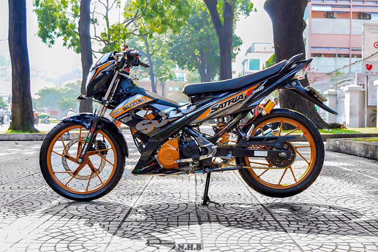 "Ngam xe may Suzuki Raider 150 do ""sieu chat"" tai Sai Gon-Hinh-7"