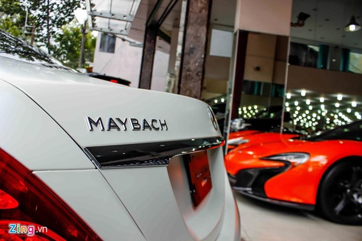 Xe sieu sang Mercedes Maybach S600 trang mo do mam o Sai Gon-Hinh-7