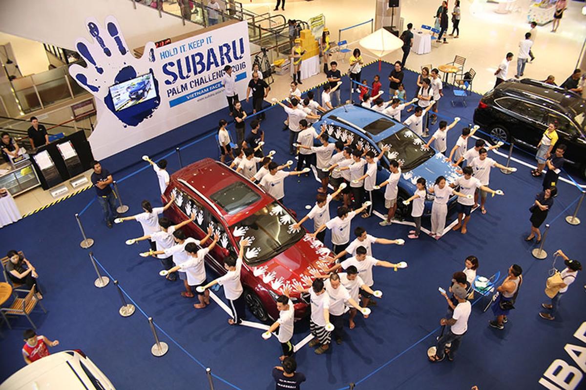 Thu thach cung Subaru 2016 - so lau cau xe 1,3 ty