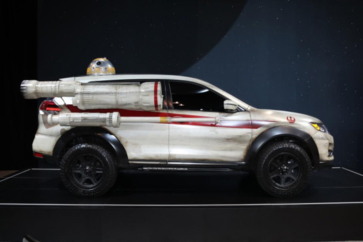 """Nissan X-Trail phien ban """"chien tranh giua cac vi sao""""-Hinh-4"""