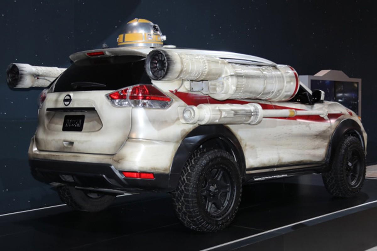 """Nissan X-Trail phien ban """"chien tranh giua cac vi sao""""-Hinh-5"""