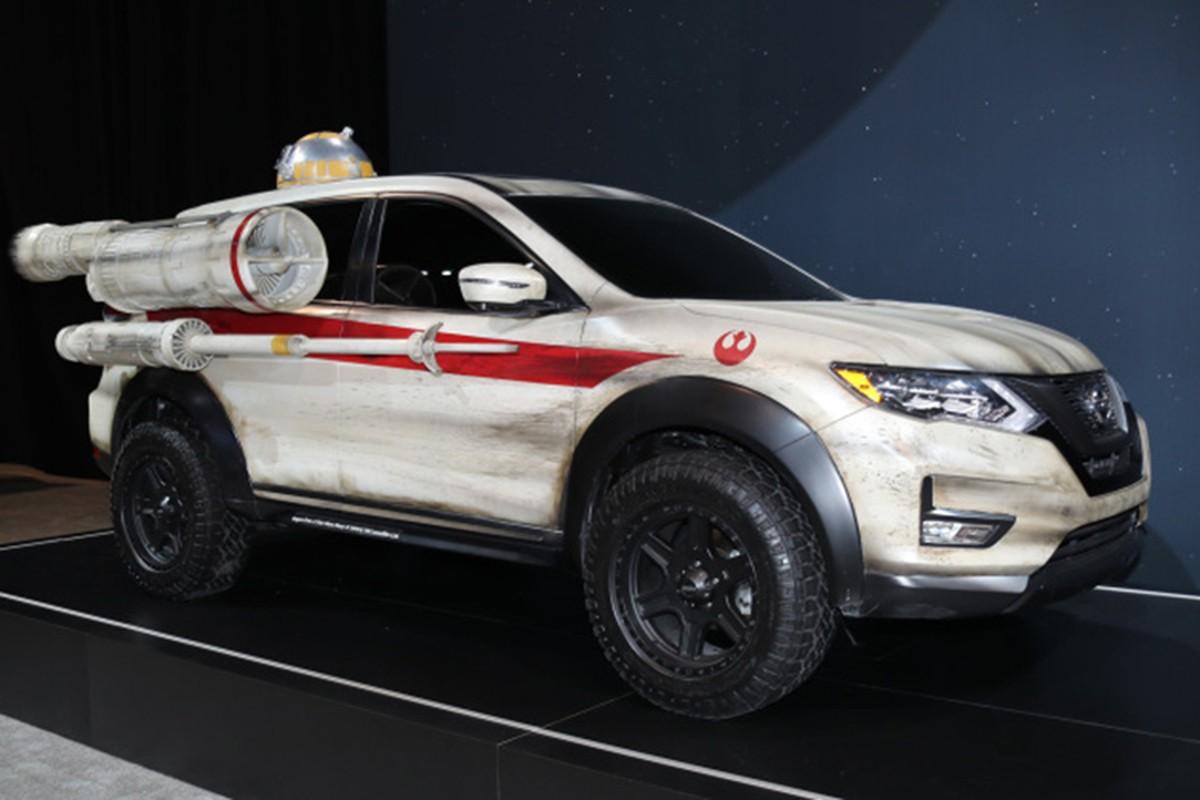 """Nissan X-Trail phien ban """"chien tranh giua cac vi sao""""-Hinh-6"""