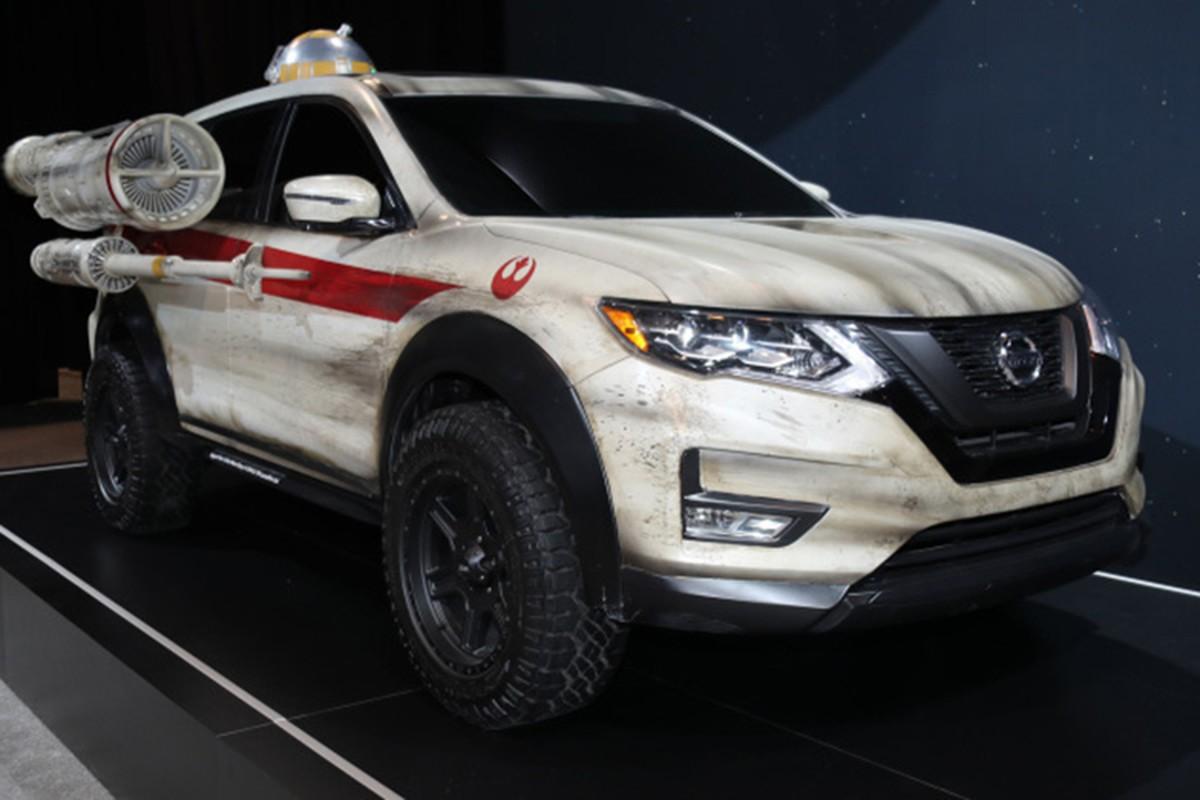 """Nissan X-Trail phien ban """"chien tranh giua cac vi sao"""""""