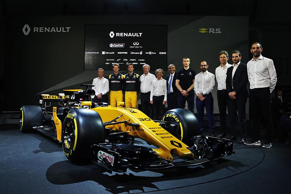 Renault ra mat xe dua F1 2017 moi tai London-Hinh-4