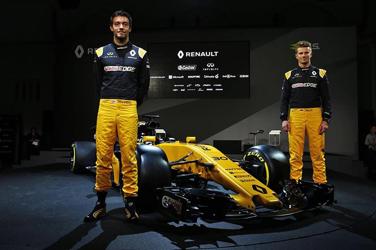 Renault ra mat xe dua F1 2017 moi tai London-Hinh-7
