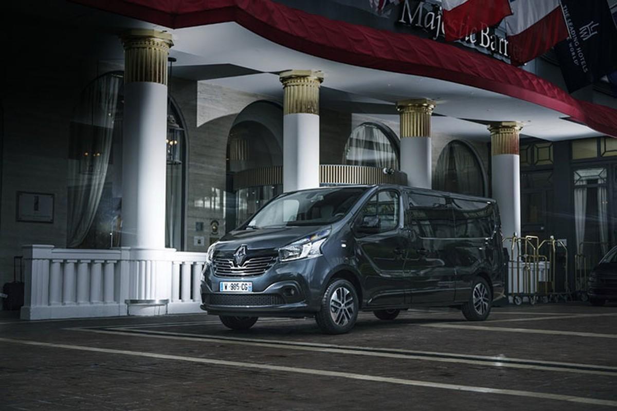 "Renault ""trinh lang"" xe Van hang sang Trafic SpaceClass"