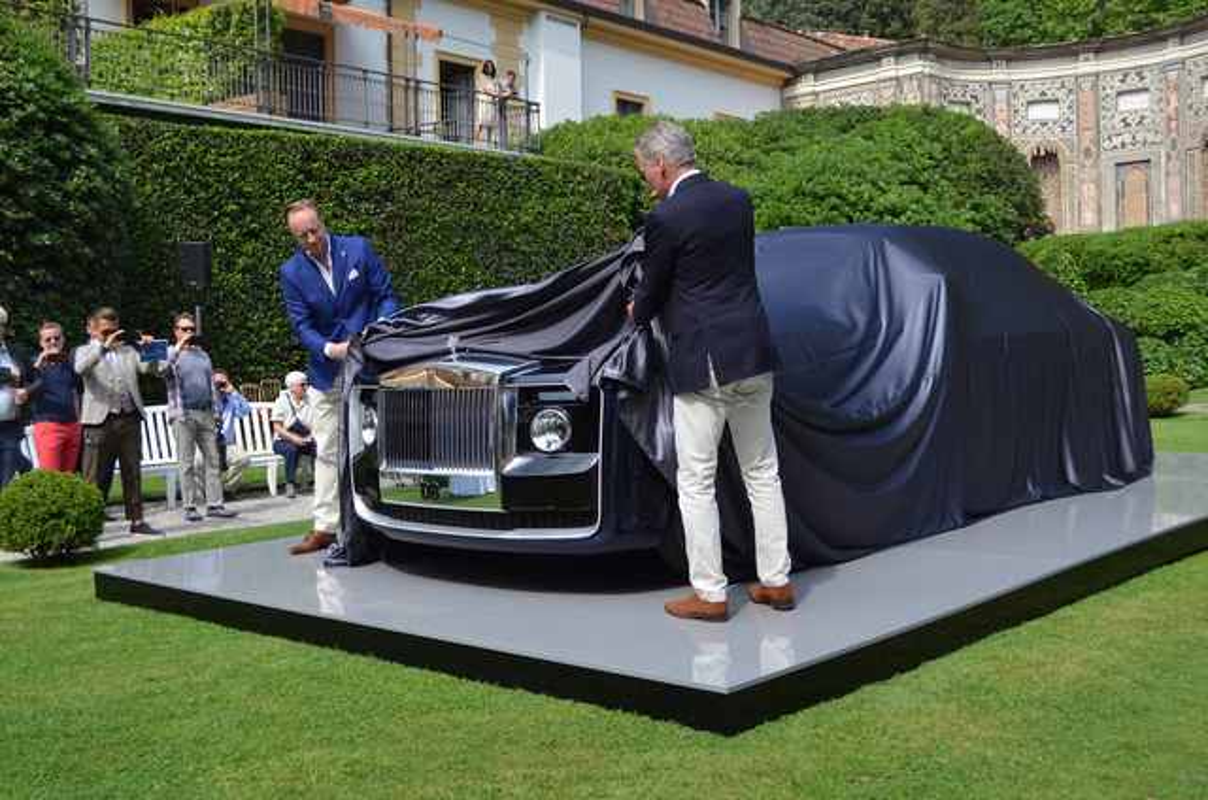 "Sieu xe sang Rolls-Royce Sweptail ""doc ban"" gia 300 ty dong"