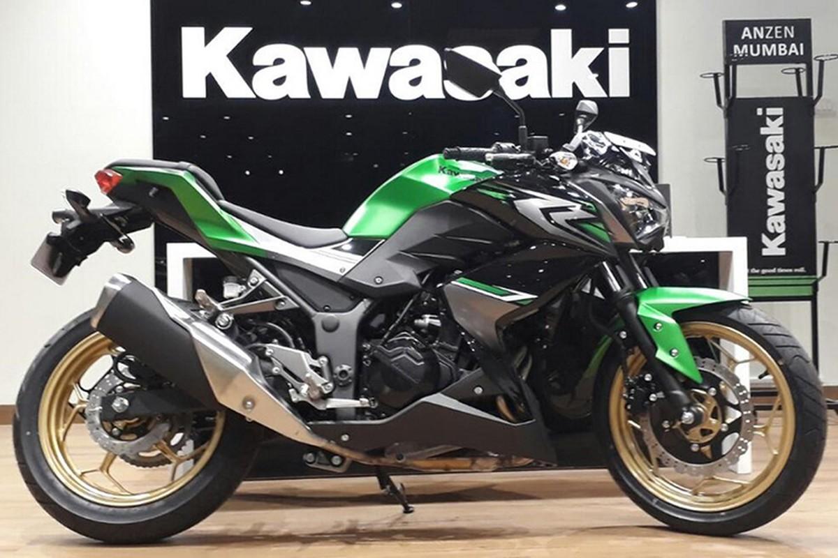 Can canh moto Kawasaki Z250 moi gia chi 109 trieu