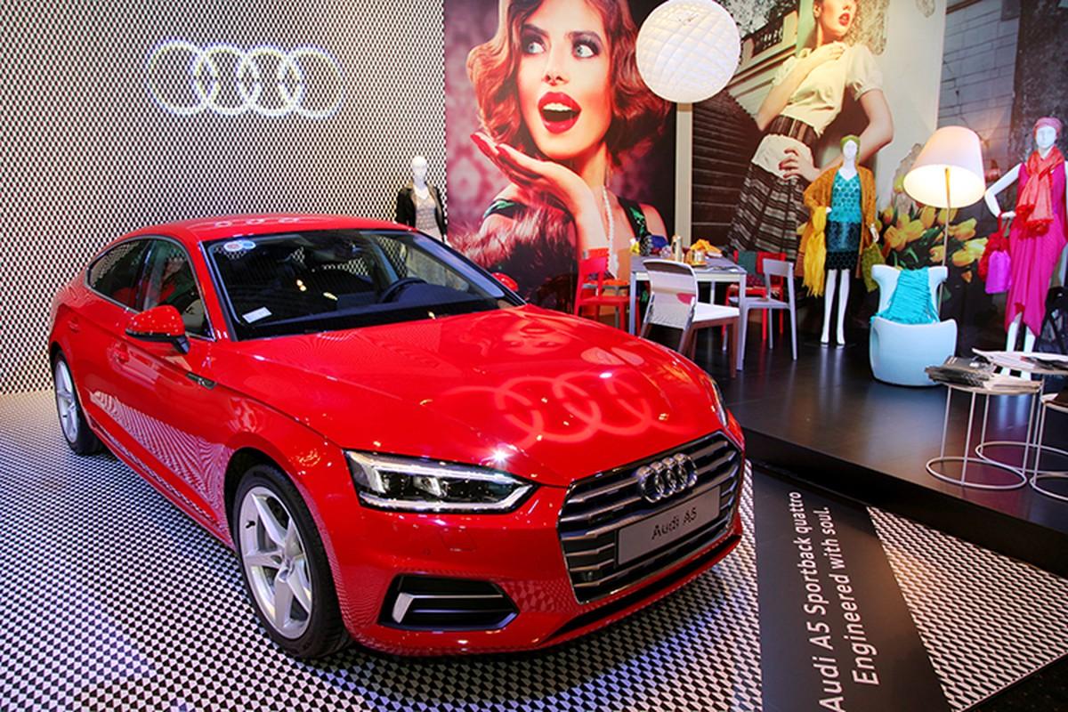 "Audi Viet Nam ""trung hang"" A5 Sportback moi gia 2,3 ty"