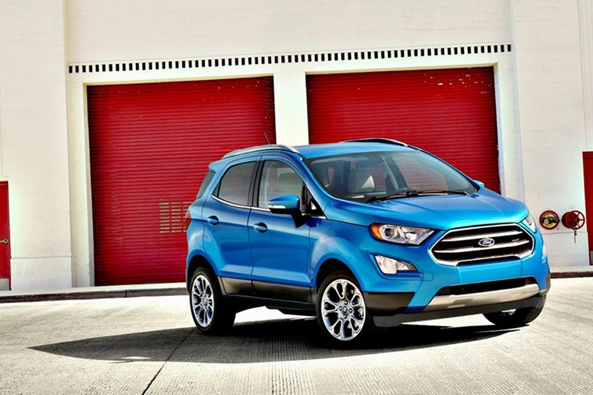 """Ford EcoSport 2018 """"chot gia"""" tu 255 trieu tai An Do"""
