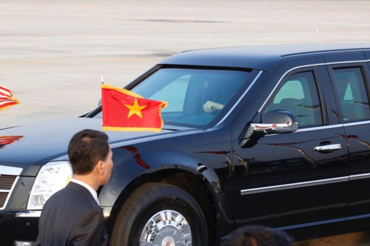 Sieu xe Cadillac One don Tong thong Donald Trump tai Ha Noi-Hinh-5