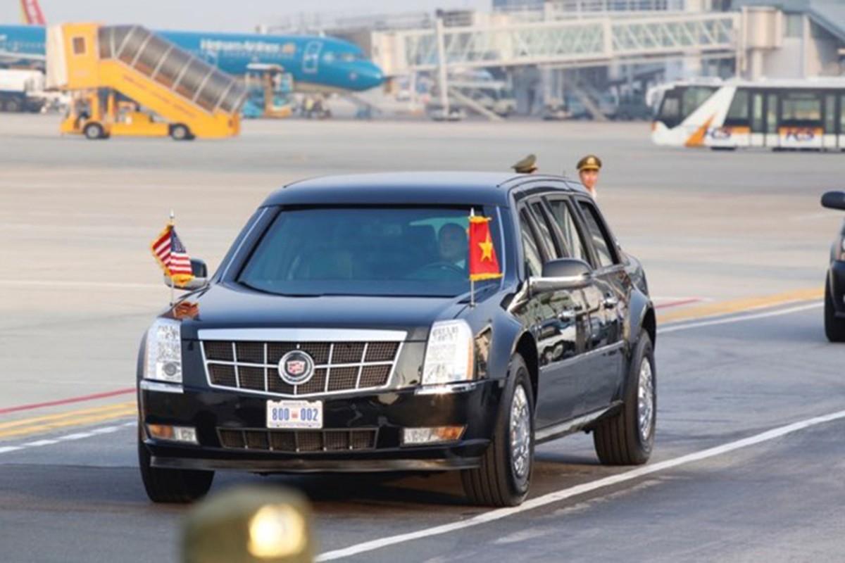 Sieu xe Cadillac One don Tong thong Donald Trump tai Ha Noi-Hinh-8