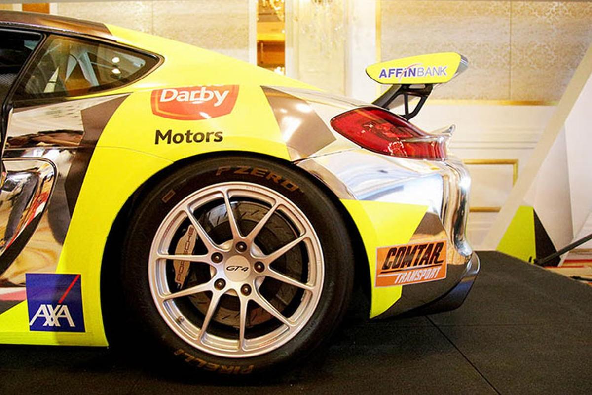 Sieu xe dua Porsche Cayman GT4 Clubsport tai Sai Gon-Hinh-5