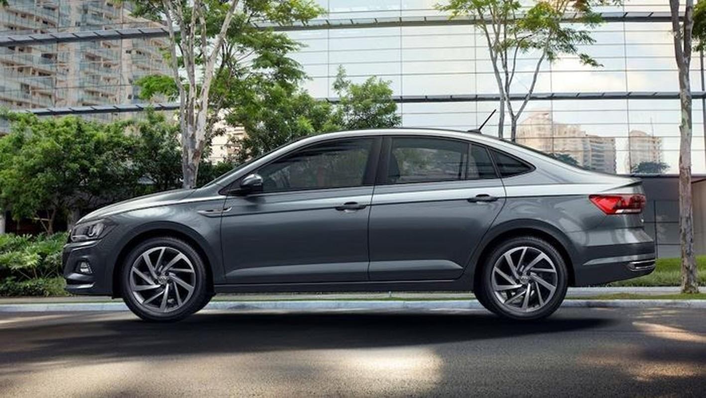 "Volkswagen ra mat Virtus ""dau"" Honda City va Toyota Vios-Hinh-2"