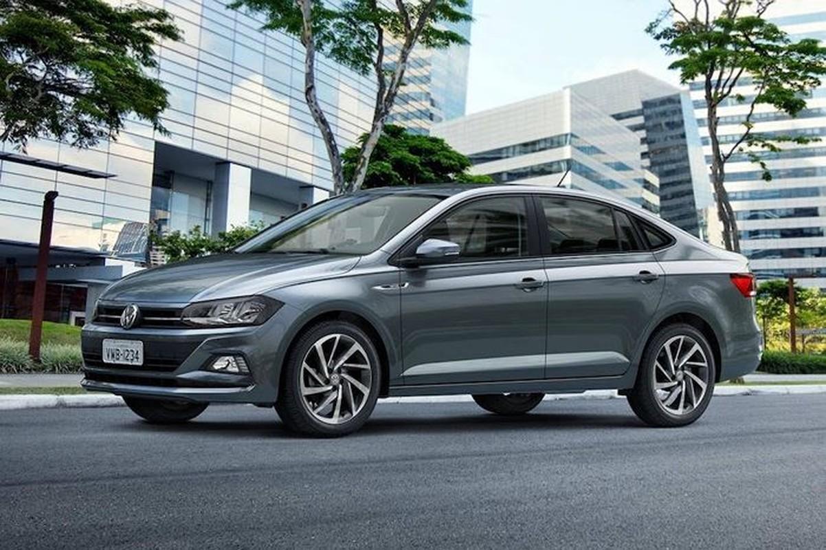 "Volkswagen ra mat Virtus ""dau"" Honda City va Toyota Vios"
