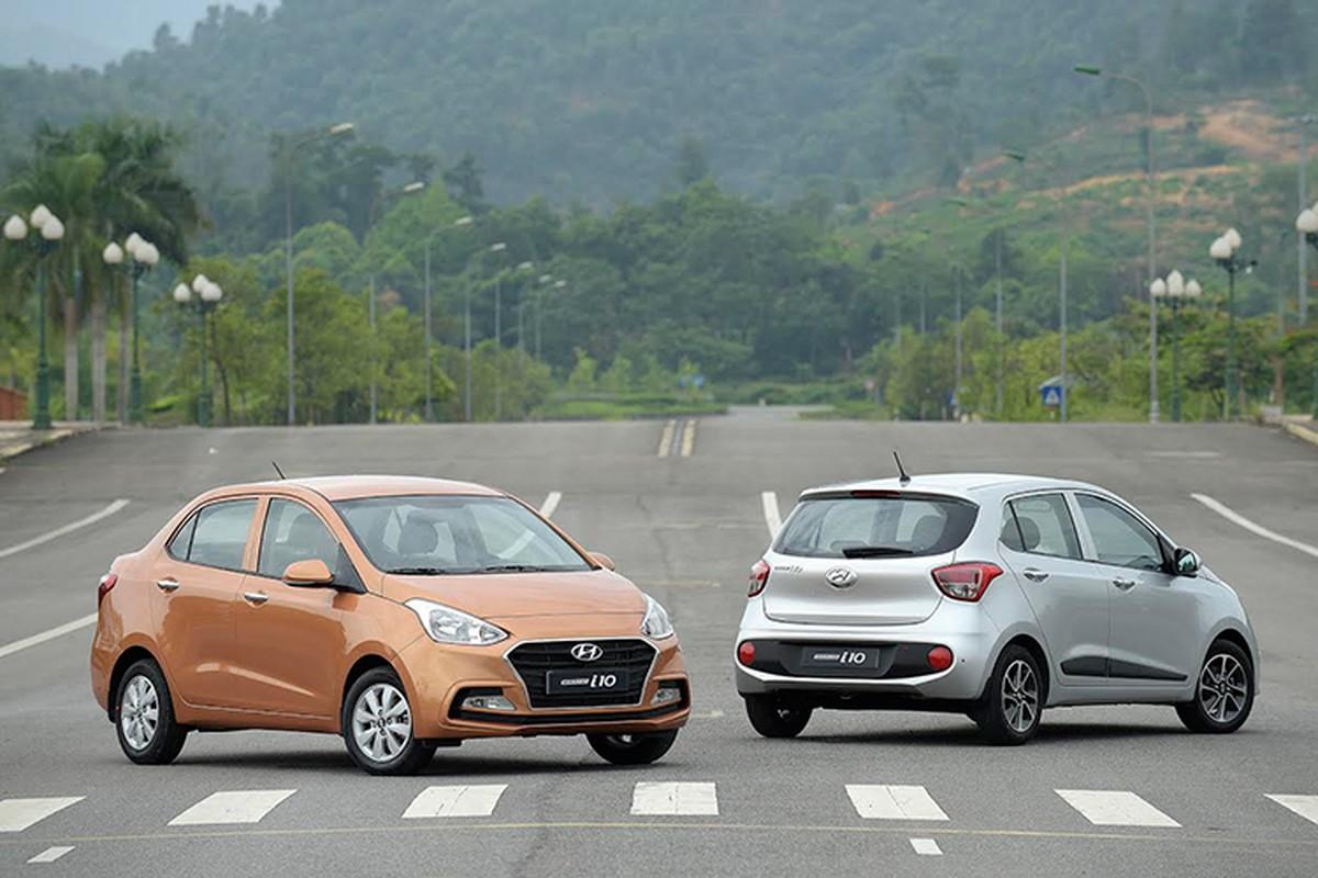 """Vua doanh so"" Hyundai i10 gia chi 315 trieu tai Viet Nam"