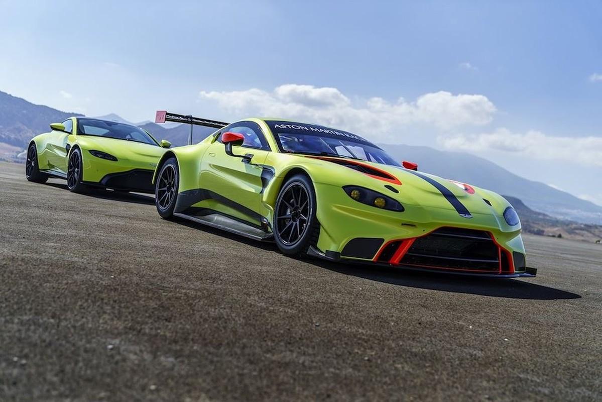 Sieu xe Aston Martin Vantage 2019 phien ban dua GTE-Hinh-7