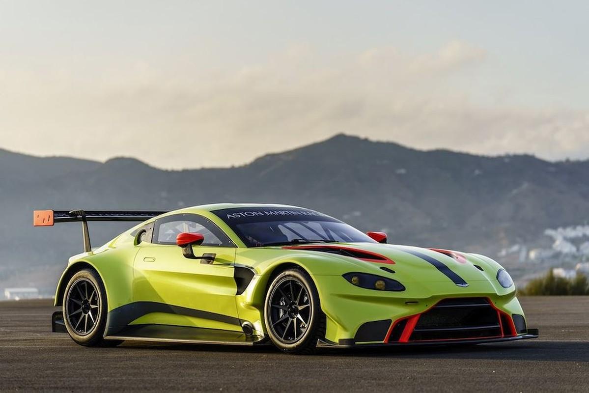 Sieu xe Aston Martin Vantage 2019 phien ban dua GTE