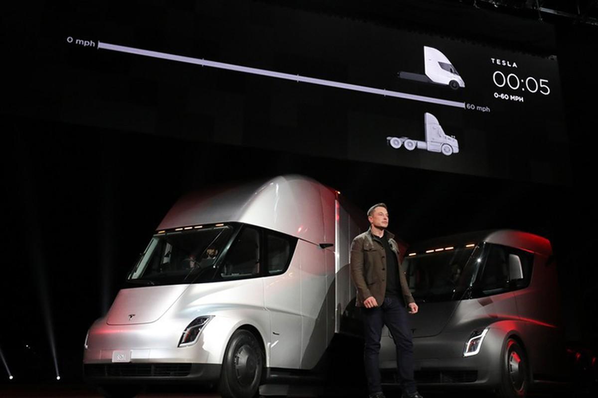 Xe dau keo chay dien Tesla Semi Truck gia 3,4 ty dong-Hinh-2