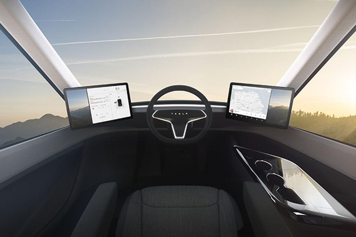 Xe dau keo chay dien Tesla Semi Truck gia 3,4 ty dong-Hinh-7