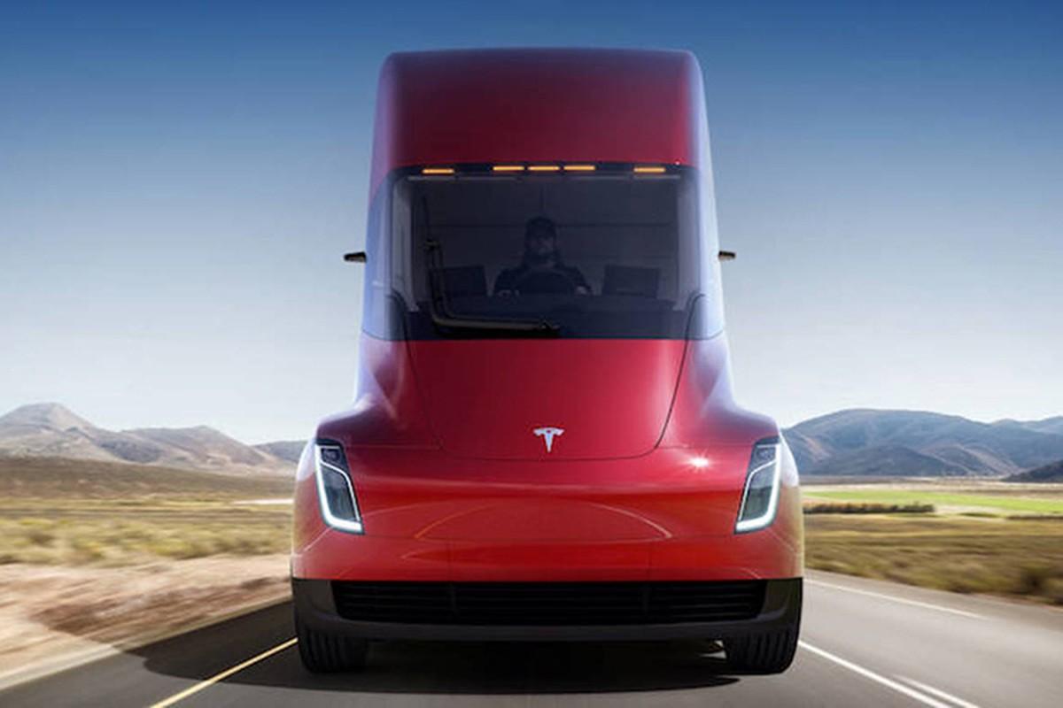 Xe dau keo chay dien Tesla Semi Truck gia 3,4 ty dong-Hinh-9