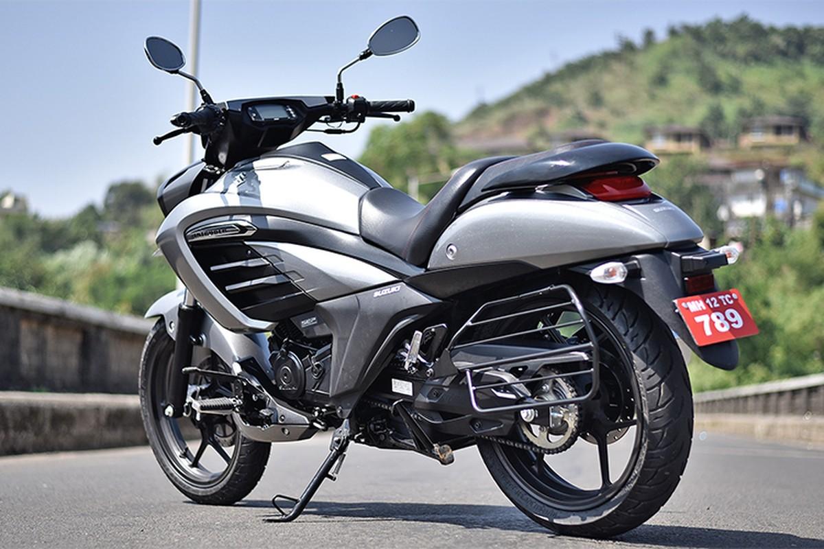 Moto binh dan Suzuki Intruder 150 FI gia chi 37 trieu dong-Hinh-10