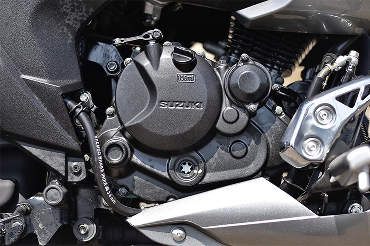 Moto binh dan Suzuki Intruder 150 FI gia chi 37 trieu dong-Hinh-9