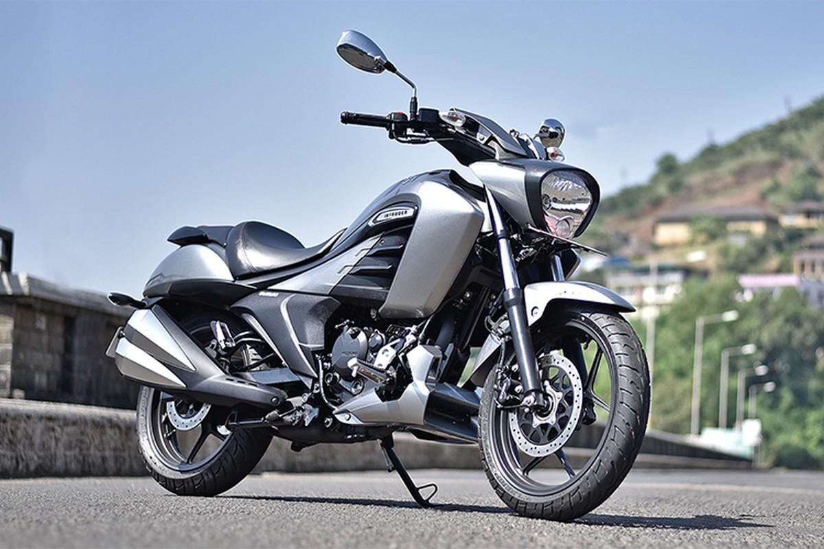 Moto binh dan Suzuki Intruder 150 FI gia chi 37 trieu dong