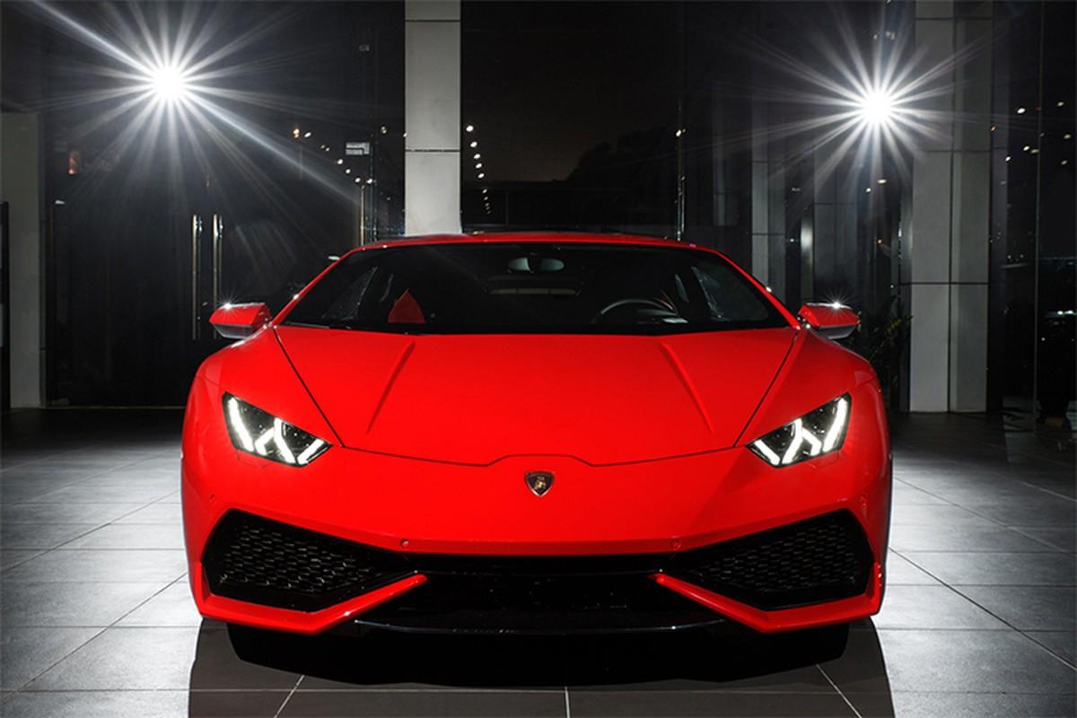 Lamborghini Huracan chinh hang, mau doc hon 20 ty tai Ha Noi-Hinh-3