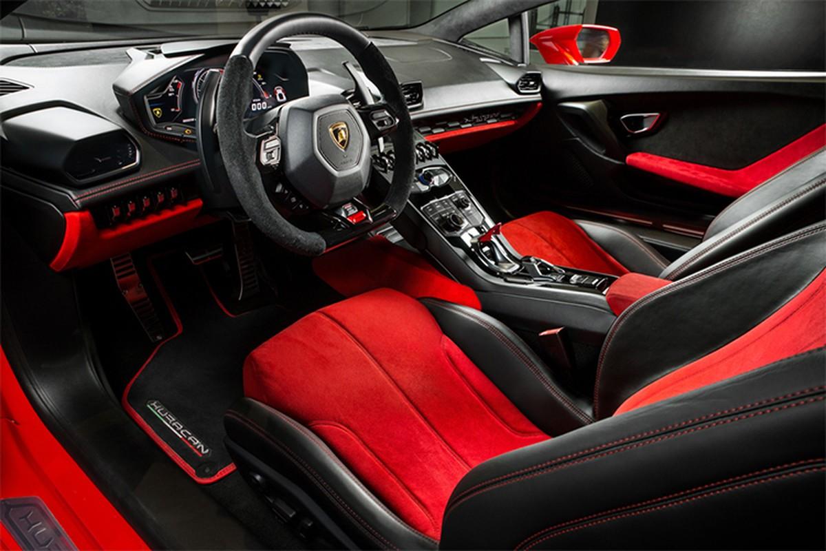Lamborghini Huracan chinh hang, mau doc hon 20 ty tai Ha Noi-Hinh-9