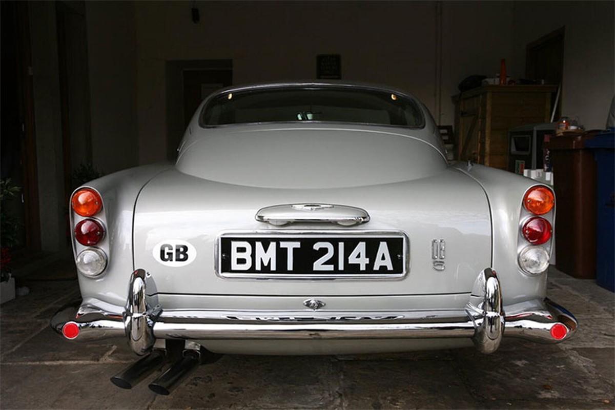 Sieu xe Aston Martin DB5 cua James Bond co gia 47,8 ty dong-Hinh-6