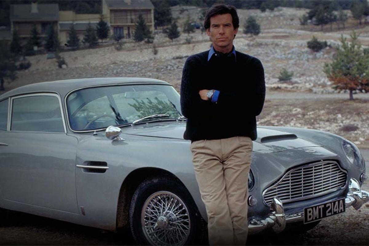 Sieu xe Aston Martin DB5 cua James Bond co gia 47,8 ty dong