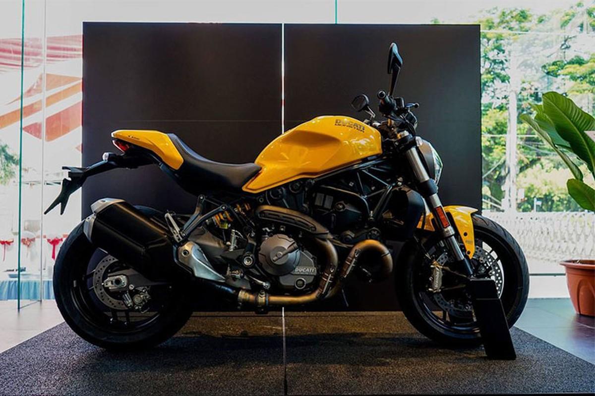 Can canh Ducati Monster 821 moi gia 399 trieu o Sai Gon-Hinh-12