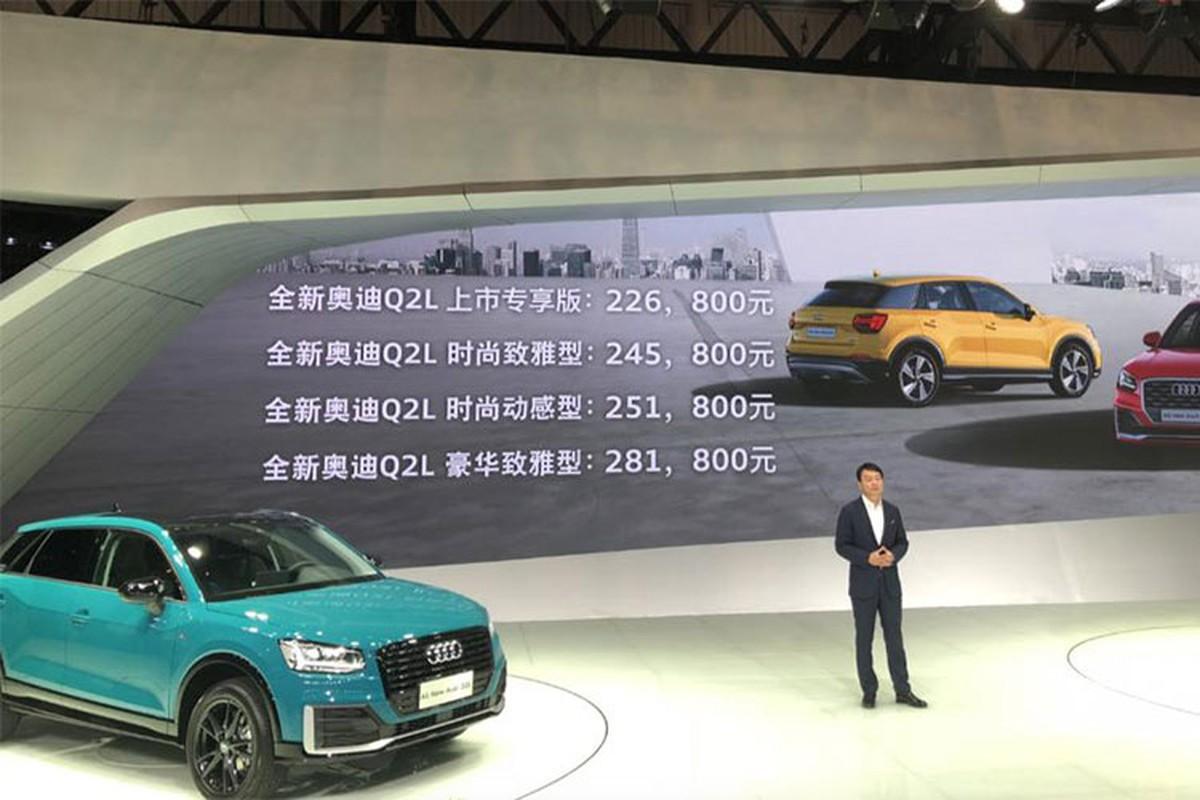 Ra mat Audi Q2 2018 gia